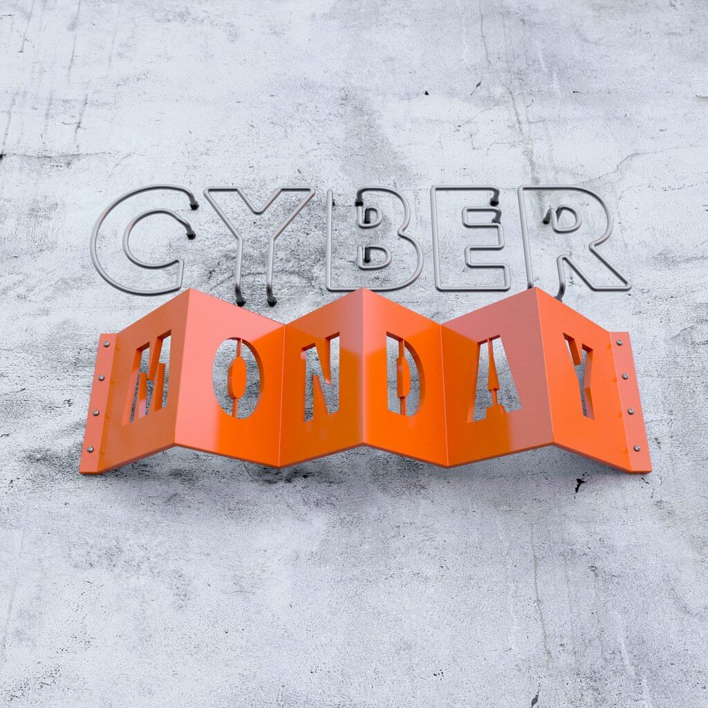Visual Design by Lumeneyes: Cyber Monday
