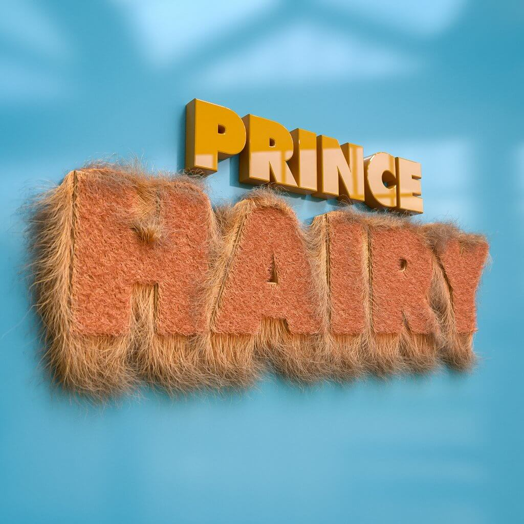 Visual Design by Lumeneyes: Prince Hairy